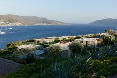 Beach of Bodrum royalty free stock images
