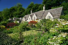 Cottages in Bibury Stock Photography