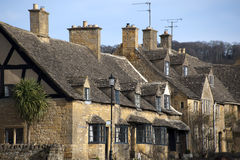 Cottages broadway Royalty Free Stock Photography