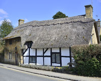 Cottages broadway Royalty Free Stock Images