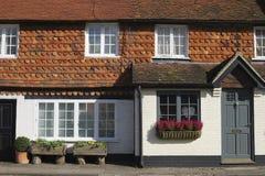 Cottages at Chiddingfold. Surrey. UK Stock Photo