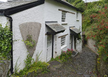 Cottages, Clovelly Royalty Free Stock Photography