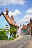 Cottages colorés image stock