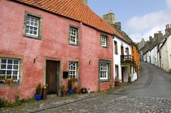 Cottages In Culross Stock Photography
