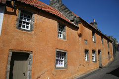Cottages Culross, Fife Stock Image