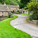 Cottages de Blanchland photographie stock