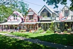 Cottages de bluff de chêne Photo libre de droits