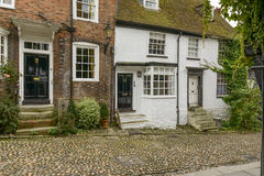 Cottages de brique, Rye photos libres de droits