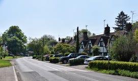 Cottages de style de Tudor photo stock