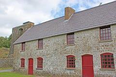 Cottages de travailleurs photo stock