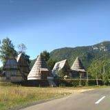 Cottages de vacances images libres de droits