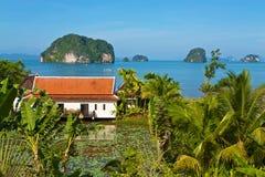 Cottages de vacances de la Thaïlande Image libre de droits