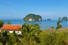 Cottages de vacances de la Thaïlande Photographie stock