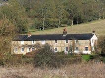 Cottages du fond de Sarratt situés dans la vallée d'échecs, Hertfordshire images libres de droits