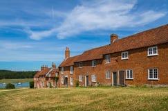Cottages durs de Buckers Photographie stock libre de droits