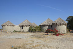 Cottages in gujarat Royalty Free Stock Photo