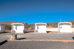 Cottages at Jebel Shams Oman Royalty Free Stock Image