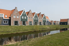 Cottages in the Marina Park. Stock Image