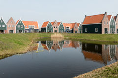 Cottages in the Marina Park. Stock Images