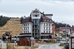 Cottages in the mountain resort Ranca ,  Transalpina,  Romania.