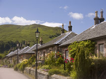 Free Cottages Of Luss Royalty Free Stock Photo - 7038805
