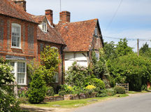 Cottages On An English Village Street Royalty Free Stock Photo
