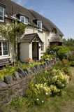 Cottages at Porlock Weir, England Royalty Free Stock Image