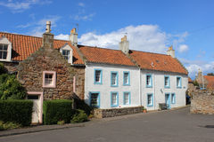 Cottages with red pantile roofs, Crail, Fife Stock Photo