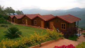 Cottages sur la montagne Image stock
