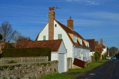 Cottages in Winchelsea, East Sussex Royalty Free Stock Images