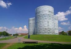 Cottbus-Bibliothek 01 Stockbild