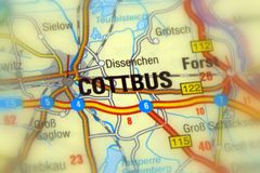 Cottbus, Brandenburg, Germany - Europe. Cottbus, a city in Brandenburg, Germany Europe royalty free stock photo
