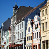 Cottbus facades Royalty Free Stock Images