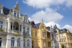 Cottbus facades Stock Photography