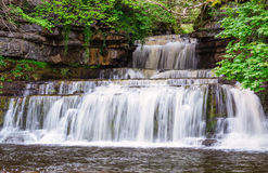 Cotter Force Waterfall Royalty Free Stock Images