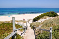 Cottesloe Beach: Path to the Indian Ocean stock photos
