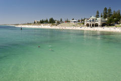 Cottesloe Beach, Perth, Western Australia royalty free stock image