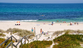 Cottesloe Beach with Turquoise Waters stock photos