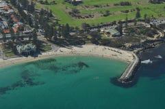 Cottesloe strand Perth västra Australien Arkivfoto