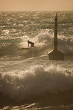 Cottesloe Strand-Surfer Stockfoto