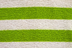 Cotton. Green and white Cotton coat,a part of sweater stock photography