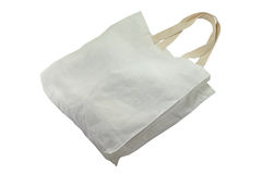 Cotton bag. Isolated for shopping Stock Photo