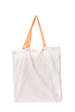 Cotton bag on white background Royalty Free Stock Photography