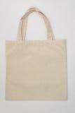 Cotton Bag. On white background royalty free stock image