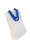 Cotton bag on white isolated background Royalty Free Stock Photos