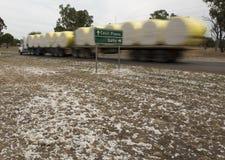 Cotton bales Stock Photo