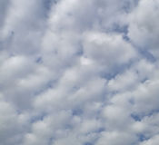Cotton ball clouds Royalty Free Stock Photos