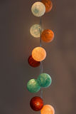 Cotton ball lights Stock Photo