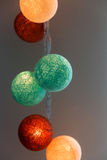 Cotton ball lights Stock Image