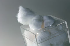 Cotton Balls Stock Images